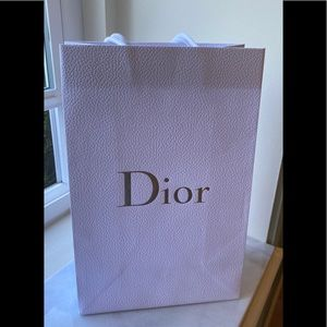 Dior Paper shopping bag authentic